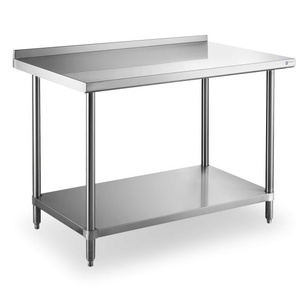 Worktables with Splash Guard