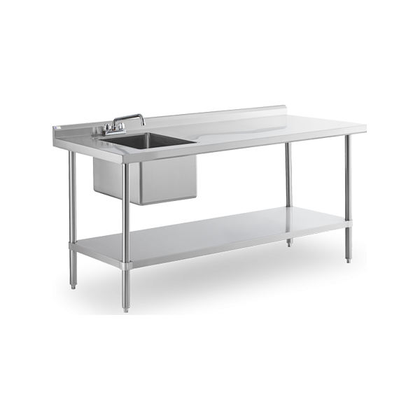 Work Tables with Sinks