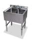 2 Compartment Bar Sink