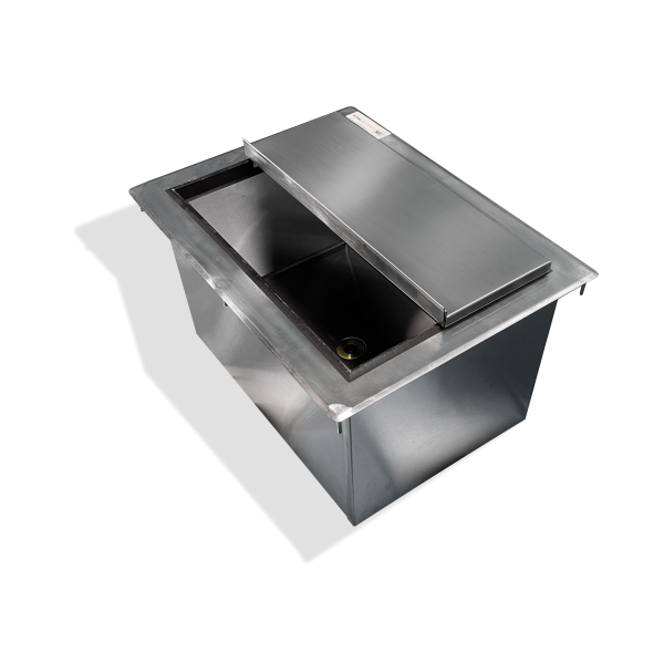 Drop-In Ice Bin with Cover